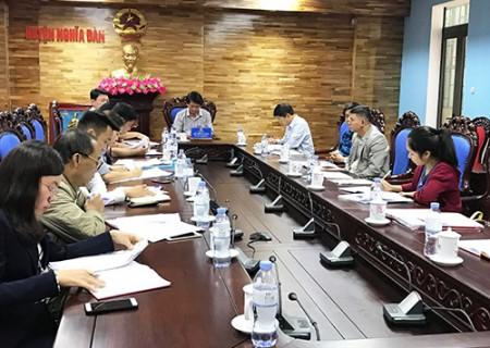 Xử lý vi phạm đất đai trên địa bàn xã Nghĩa Lộc