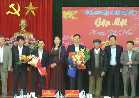 Nghĩa Đàn thăm, gặp mặt đầu xuân tại Như Xuân (Thanh Hóa)