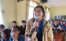 Hơn 200 học sinh được tuyên truyền pháp luật về quyền dân sự, chính trị