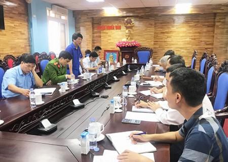 UBND huyện Nghĩa Đàn làm việc với Cty CPTP sữa TH