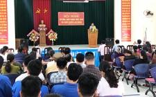 Nghĩa Hồng tổ chức hội nghị tư vấn, giới thiệu việc làm và XKLĐ