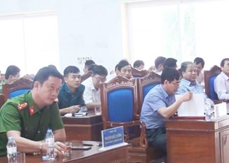 Hội nghị giao nhiệm vụ tổ chức diễn tập chiến đấu phòng thủ cấp xã năm 2019