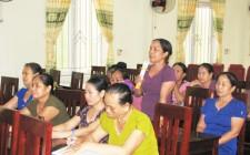 Hội LHPN xã Nghĩa Tân sơ kết giữa nhiệm kỳ 2016 - 2021