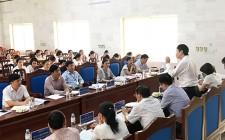Đoàn kiểm tra, khảo sát của Bộ GD-ĐT làm việc với phòng GD-ĐT huyện Nghĩa Đàn