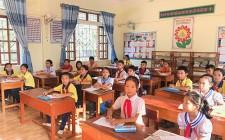418 học sinh tiểu học Nghĩa Đàn giao lưu Olympic các môn học, năm học 2018-2019