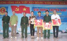 Hội Cựu Chiến binh huyện Nghĩa Đàn tổ chức giải bóng chuyền Nam Cụm số 2