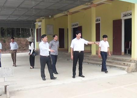 Thẩm định xã đạt chuẩn NTM năm 2019 tại xã Nghĩa Thắng