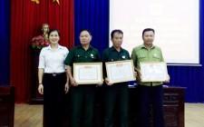Hội CCB xã Nghĩa Tân tổng kết phong trào CCB gương mẫu