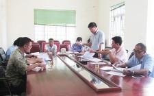 Hội trang trại và làng nghề tỉnh làm việc với huyện Nghĩa Đàn