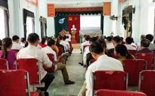 Hội nông dân xã Nghĩa Liên sơ kết 6 tháng đầu năm 2019