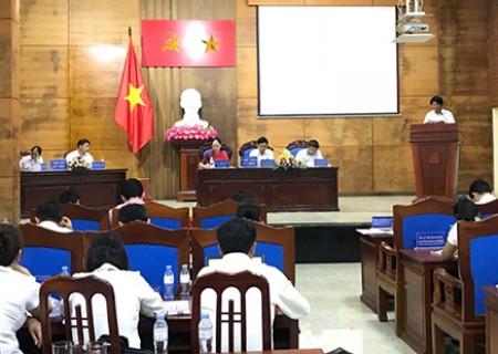 Kỳ họp thứ 8 ( Kỳ họp bất thường ) HĐND huyện Nghĩa Đàn khóa XIX nhiệm kỳ 2016 - 2021