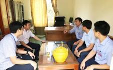 Lãnh đạo huyện Nghĩa Đàn kiểm tra công tác chuẩn bị thi THPT Quốc gia 2019