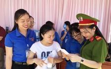 Không khí ngày đầu của kỳ thi THPT Quốc gia ở Nghĩa Đàn