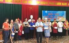 Hội LHPN xã Nghĩa Sơn tổ chức hội thi khéo tay làm bánh năm 2019