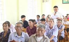 Đại biểu quốc hội khoá XIV tiếp xúc cử tri huyện Nghĩa Đàn