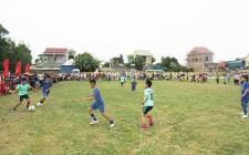 Đoàn xã Nghĩa Phú khai mạc giải bóng đá nam thiếu niên nhi đồng năm 2019
