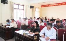 Hội Nông dân huyện Nghĩa Đàn sơ kết công tác hội 6 tháng đầu năm 2019