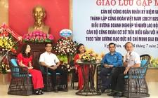 LĐLĐ huyện Nghĩa Đàn tổ chức giao lưu gặp mặt cán bộ công đoàn nhân kỷ niệm 90 năm thành lập công đoàn Việt Nam
