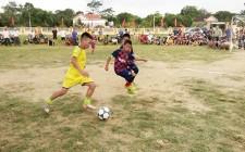 Khai mạc Giải bóng đá Thiếu nhi xã Nghĩa Tân hè 2019