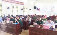 Cụm liên kết an ninh khu vực sơ kết công tác phối hợp hoạt động  6 tháng đầu năm 2019