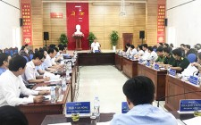 Chủ tịch UBND tỉnh Thái Thanh Quý làm việc với lãnh đạo huyện Nghĩa Đàn