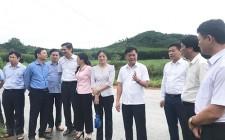 Chủ tịch UBND tỉnh Thái Thanh Quý thăm các cơ sở sản xuất công, nông nghiệp trên địa bàn huyện Nghĩa Đàn
