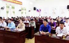 Đảng bộ Nghĩa Tân quán triệt Nghị quyết Trung ương 10 khóa XII