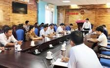 UBND huyện Nghĩa Đàn làm việc với Trung tâm Văn hóa, Thể thao và Truyền thông
