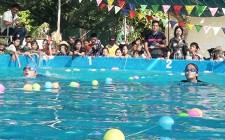 Hơn 70 vận động viên tham gia giải bơi trung tâm Giáo dục nghề nghiệp – Giáo dục thường xuyên huyện Nghĩa Đàn mở rộng năm 2019