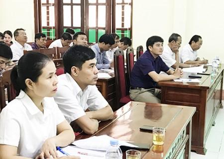 Tập huấn công tác kiểm tra, giám sát năm 2019