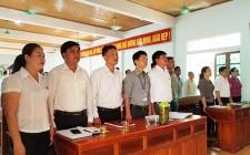 HĐND xã Nghĩa Tân, Nghĩa Liên họp bất thường về sáp nhập thành lập đơn vị hành chính mới