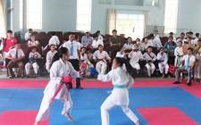 Gần 200 vận động viên tham gia giải vô địch cúp CLB karate Nghĩa Đàn mở rộng lần thứ nhất năm 2019