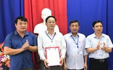 Công bố quyết định thành lập chi bộ Trung tâm Văn hóa, thể thao và Truyền thông