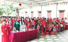 Trường Mầm non Nghĩa Lộc khai giảng năm học mới