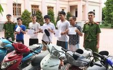 Bắt các đối tượng gây ra 35 vụ trộm xe máy