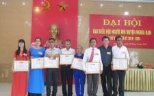Đại hội đại biểu Hội người mù huyện Nghĩa Đàn khoá V nhiệm kỳ 2019 - 2024