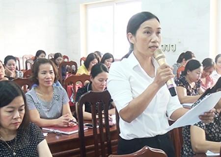 Hội nghị triển khai nhiệm vụ và bàn các giải pháp nâng cao chất lượng giáo dục năm học 2019 - 2020