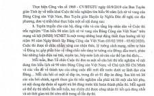 Triển khai cuộc thi trắc nghiệm tìm hiểu 90 năm lịch sử vẻ vang của Đảng cộng sản Việt Nam