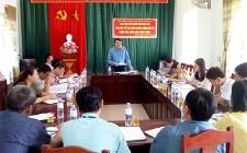 Ban Pháp chế HĐND tỉnh khảo sát về công tác sắp xếp, sáp nhập xã