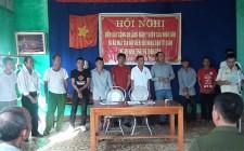 Nghĩa Long ra mắt CLB hội viên nông dân tự quản về an ninh trật tự thôn xóm