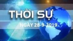 Chương trình ngày 28-9-2019