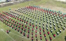 Nghĩa Phú tổ chức hội thi đồng diễn dân vũ chào mừng ngày thành lập Hội LHPN và Hội Nông dân