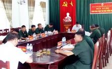 Hội CCB huyện Nghĩa Đàn tổ chức giao ban quý III tại Cụm số 2