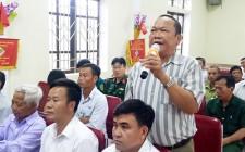 Đại biểu Quốc hội tiếp xúc cử tri huyện Nghĩa Đàn