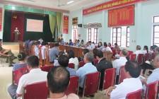 Thẩm tra xã đạt chuẩn NTM năm 2019 tại xã Nghĩa Trung