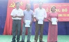 Nghĩa Khánh công bố sáp nhập 2 xóm Trù - Mét