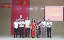Thị trấn Nghĩa Đàn công bố Nghị quyết số 08 - NQ/HĐND của HĐND tỉnh