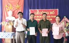 Nghĩa Lâm công bố nghị quyết của HĐND tỉnh về sáp nhập xóm