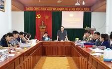Ủy ban MTTQ huyện Nghĩa Đàn tổ chức hội nghị giao ban cụm số 2