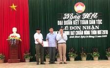 Xóm Bình Minh (Nghĩa Lộc) đón nhận công nhận đạt chuẩn Nông thôn mới
